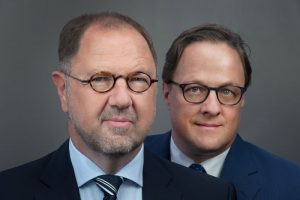 Geschäftsführung Narses: Klaus-Peter Stegen und Aljoscha Walser